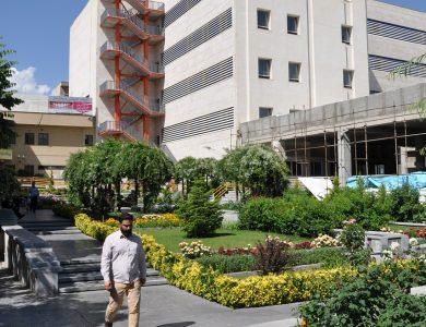 hospital yard